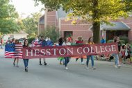 Home Sweet Hesston Homecoming Parade