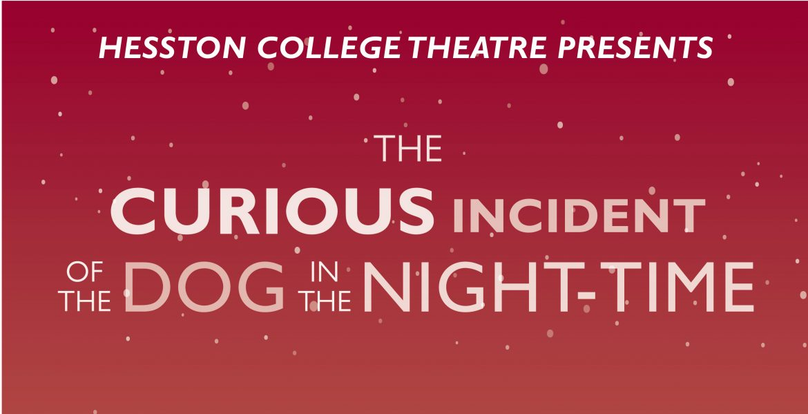"Fall 2019 play ""The Curious Incident of the Dog in the Night-time"""