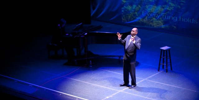 Tony Brown in I Go On Singing: Paul Robeson's Life in Word and Song