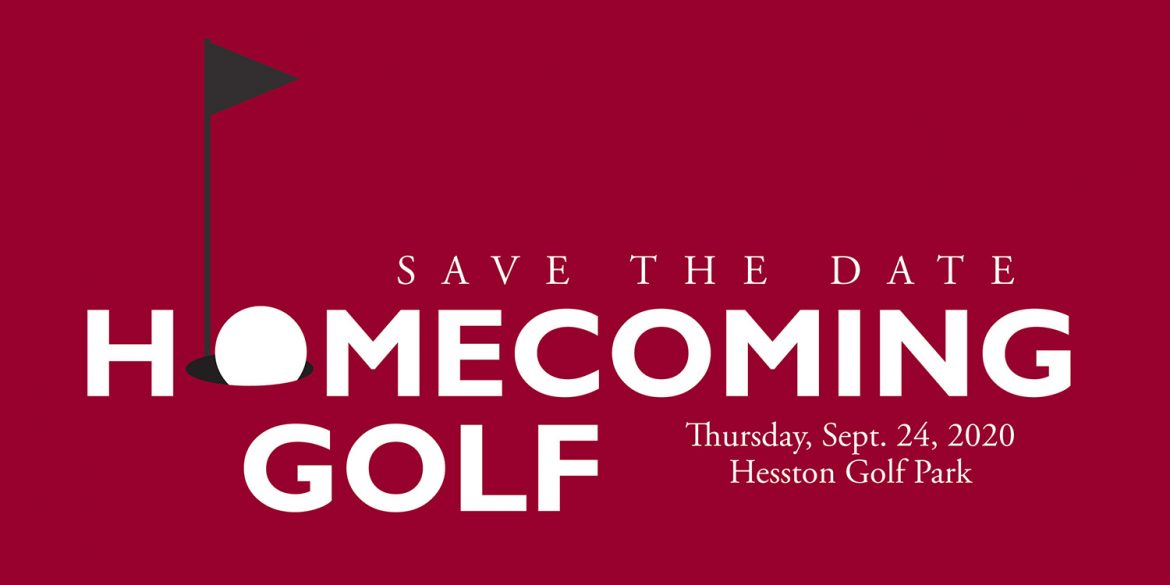 Save the date for Homecoming Golf, Sept. 24, 2020