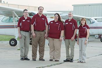 Hesston College Aviation staff