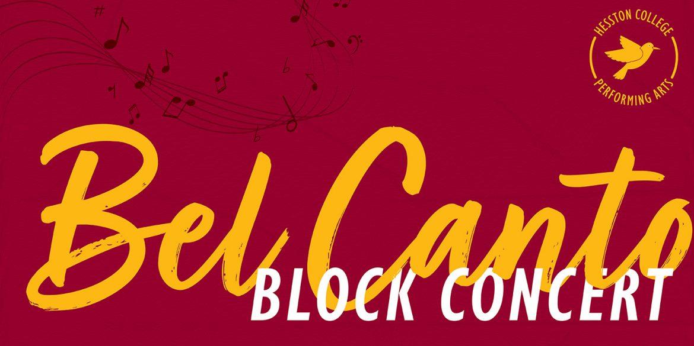 Bel Canto Block Concert