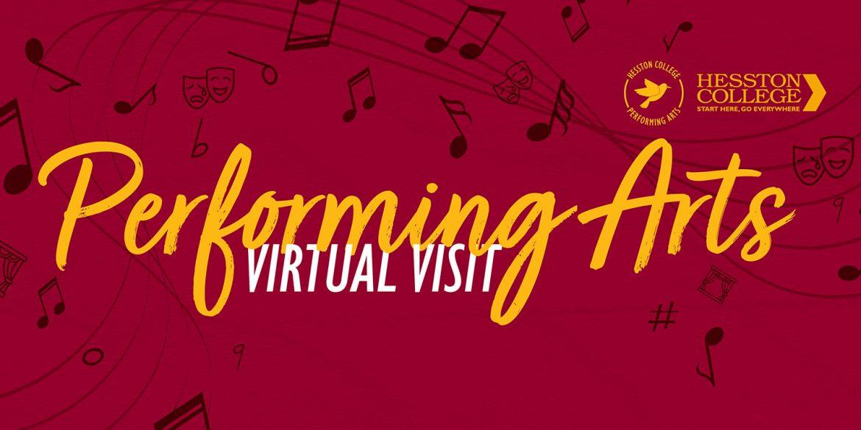 Performing Arts Virtual Visit