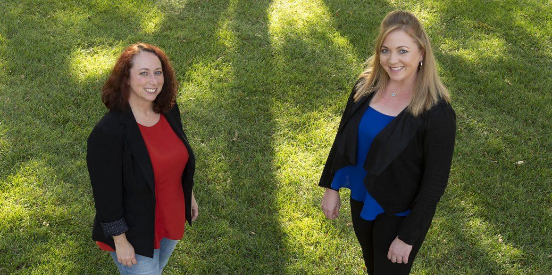 Rachel Jantzi and Celaine Worder - Hesston College Theatre faculty