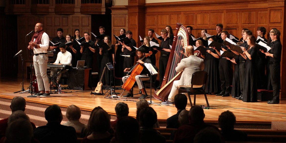 Bel Canto Singers perform with Sons of Serendip