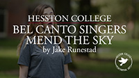 video link - Bel Canto Singers perform Mend the Sky by Jake Runestad