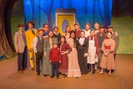 Cast photo from spring 2020 Hesston College Theater production of Tuck Everlasting