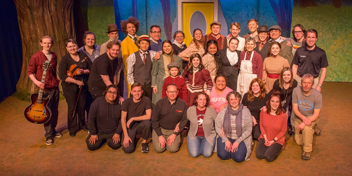 Cast and crew from the 2020 Hesston College production of Tuck Everlasting