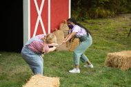 photo from the fall 2020 Hesston College Theatre production of Charlotte's Web