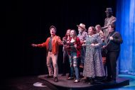 Photo from the spring 2019 Hesston College Theatre production of Big Fish