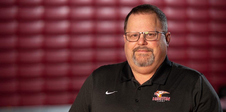 Hesston College Athletic Director Bryan Kehr
