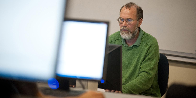 Bob Harder teaches computer information technology