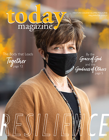 Hesston College Today Fall/Winter 2020-21 cover