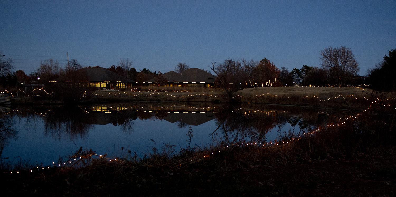 Dyck Arboretum of the Plains Christmas season event - The Prairie Sleeps