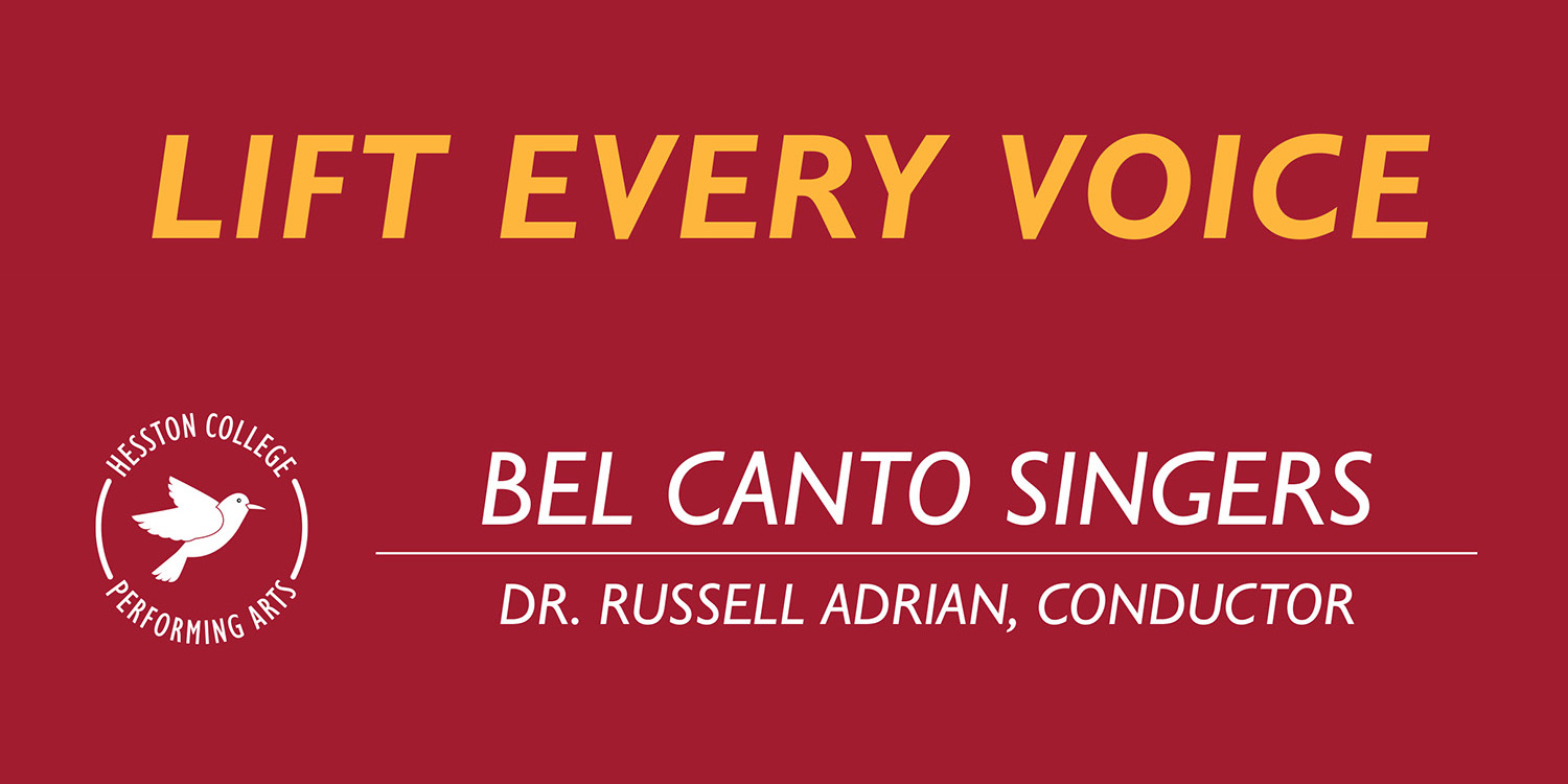 Lift Every Voice - Bel Canto Singers concert
