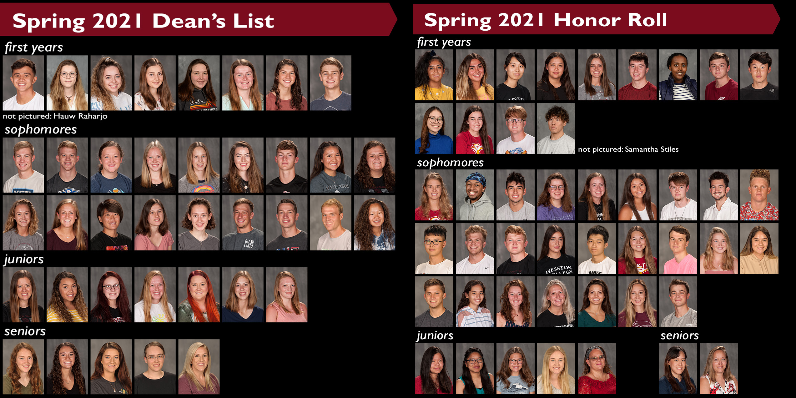 2021 spring honors