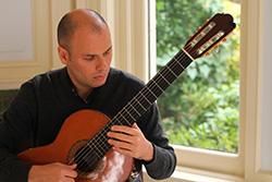 Carlos Pavan, classical guitarist