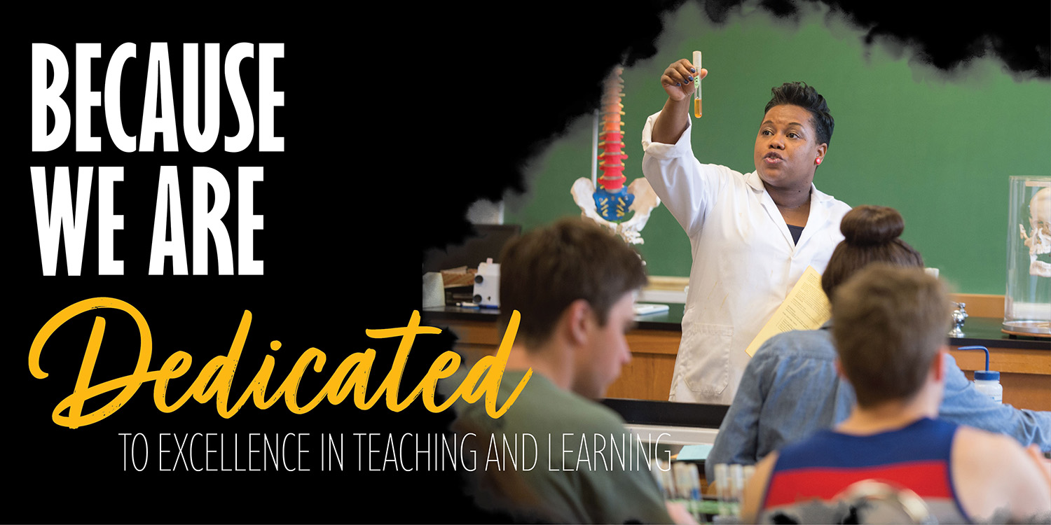 Aspiration 2 - Dedicated to excellence in teaching and learning
