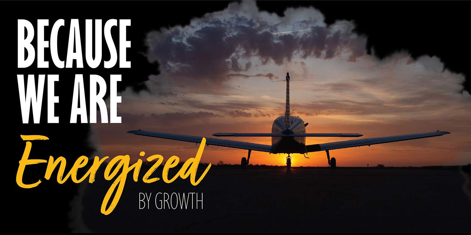 Aspiration 5 - Energized by growth