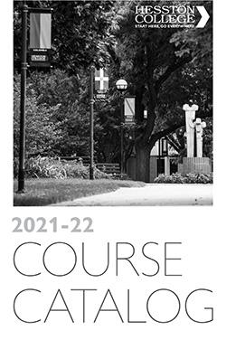2021-22 Hesston College Course Catalog cover