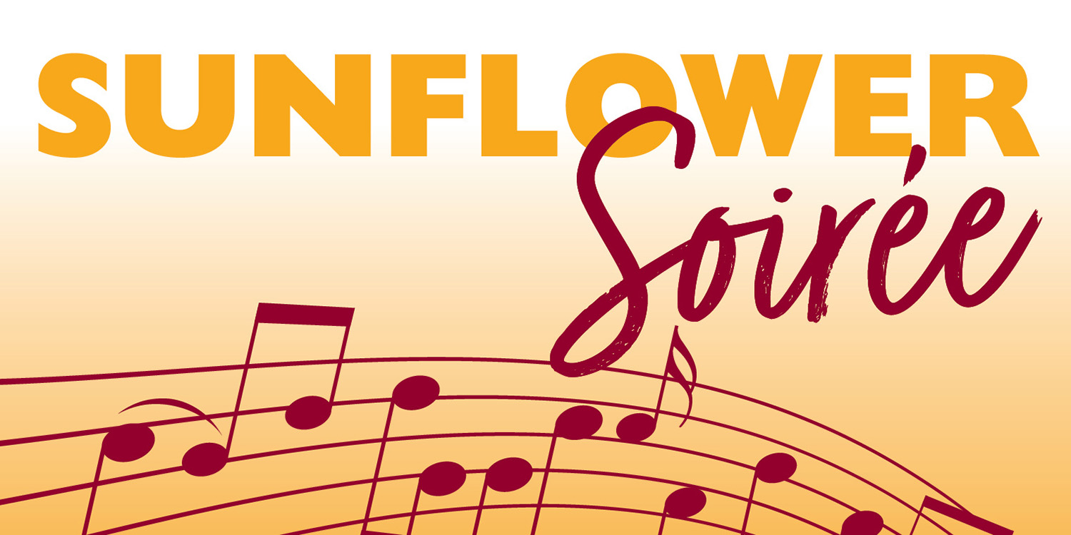 First Sunflower Soirée to feature local artists as 2021-22 Sunflower Performing Arts series kick-off