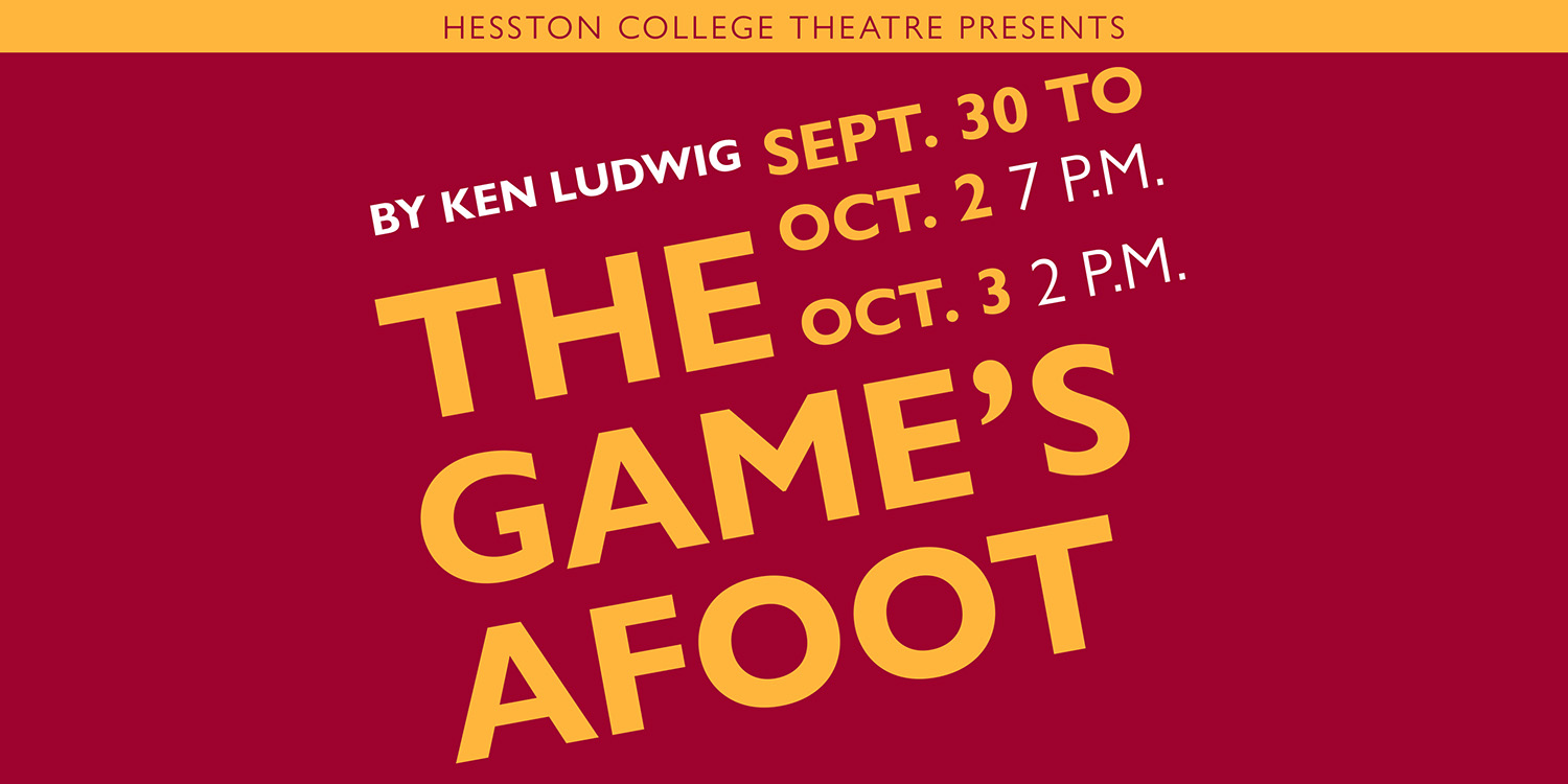 """Theatre department to stage """"The Game's Afoot,"""" a whodunit comedy set on Christmas Eve"""